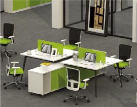 A010 简约多人办公台