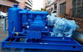 600MW电厂冷凝器抽真空节能优化系统