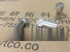 YTCO研拓科技-厂家直销 BNC金属弯头90°四角连接器