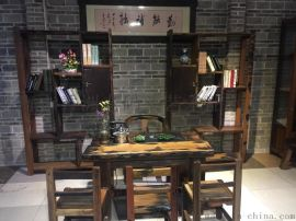 郑州老船木家具工厂|老船木茶桌椅批发|老船木家具有限公司