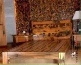 老船木床 双人床实木床船木古典大床酒店家具木质个性卧室别墅床