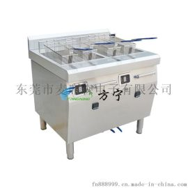 雙缸電磁炸爐  電炸爐雙缸商用  商用電炸鍋