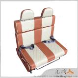 房车双人座椅商务车用折叠卡座头枕加高大通依维柯全顺改装配件