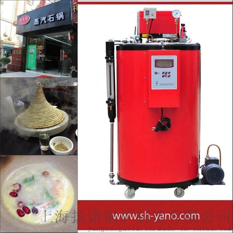 石锅鱼用50kg燃气蒸汽锅炉 免使用证燃气蒸汽发生器