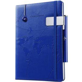 礼品笔记本套装商务本子+笔+书签商务套装定制加logo