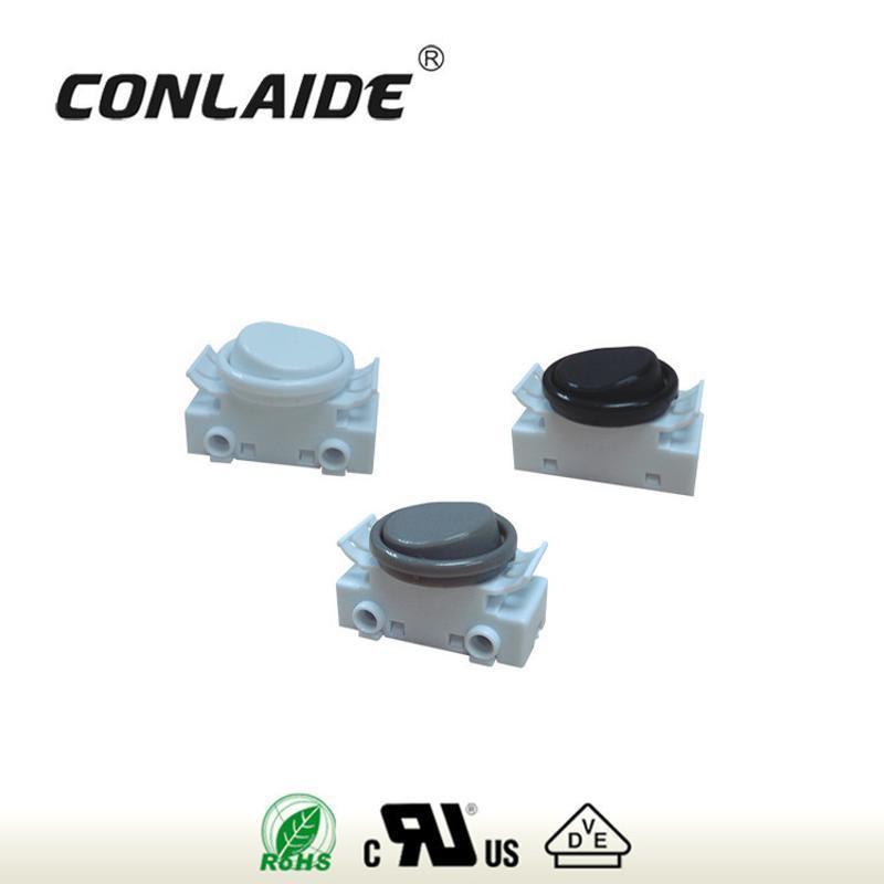 供應BELEKS-照明燈飾電器用插線式指甲開關底座+蓋+圓環-301|KS3