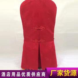 廠家直銷亞麻聚酯纖維彈力 亞馬遜婚慶椅套