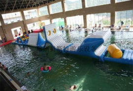 陕西西安水上闯关障碍水上游乐设备