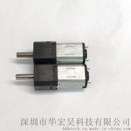 智能锁减速电机PG12共享单车锁减速电机