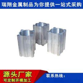 高精度精拉铝合金气缸管高精密高强度无杆气缸管型材