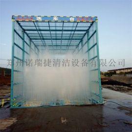 郑州6米长龙门式工地洗车机规格参数