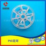 耐铬酸PVC特拉瑞德环聚氯乙烯DN73带刺花环填料