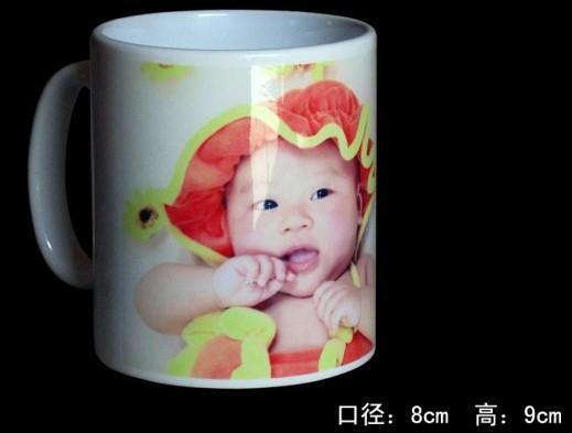 陶瓷热转印影像杯  涂层杯