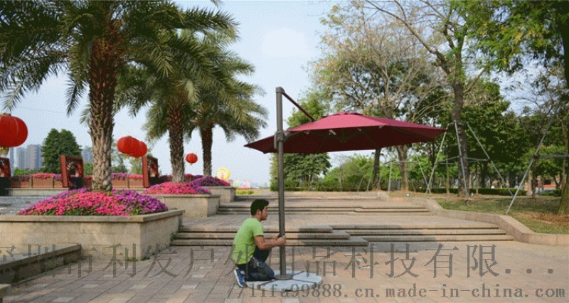 南充羅馬傘成都可旋轉遮陽傘按要求製作