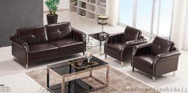 漳州办公沙发厂家,会议室真皮沙发,现代时尚商务沙发