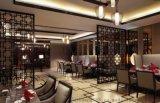 專業定製新中式茶樓屏風隔斷裝飾天花花格鏤空板