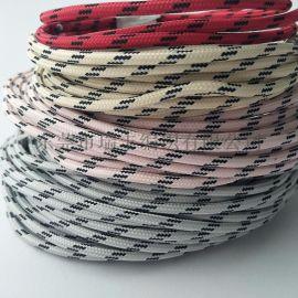加工定制电线编织 涤纶编织数据线加工 电线编网加工