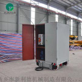 天津45吨转弯式电动平车 移动升降轨平台车驳运设备