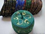 非洲尼日尔 Niger 刺绣羊毛帽