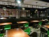 港式风味餐厅桌椅沙发家具配置图