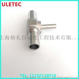 自动焊三通卡套接头 气体管道工程用不锈钢卡套接头