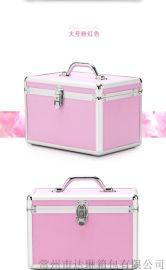 化妆箱手提银河至尊娱乐登录箱铝合金箱各种颜色任意尺寸定做