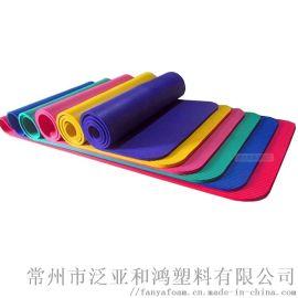 柔软舒适的NBR瑜伽垫