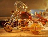 异形玻璃酒瓶 定制手工艺造型酒瓶 摩托车艺术酒瓶