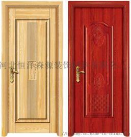 卧室用隔音生态门 河北石家庄生态门 木质套装生态门