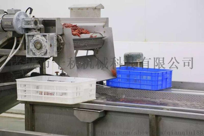油炸小龙虾加工设备,小龙虾深加工设备厂家
