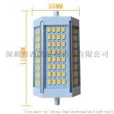 LED R7S 30W 64颗5630 电源灌胶