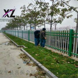 隔离防护栏,镀锌方管围墙护栏,镀锌喷塑锌钢护栏