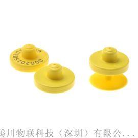 供应可读写电子耳标,RFID圆形耳标牌