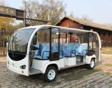 利凯士得14座双头电动观光车 电动游览车