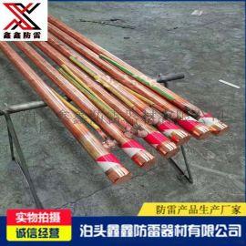 电解离子接地棒铜包钢离子接地棒中空式电解离子接地极棒现货