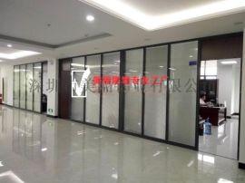 深圳南山玻璃隔墙 百叶隔断厂家