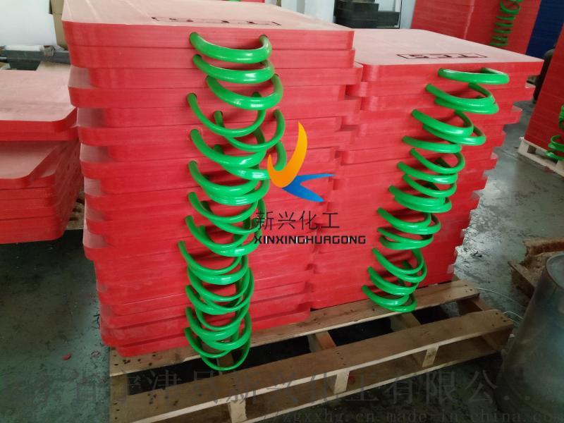 PE支腿垫板 耐用性支撑垫板 泵车支腿垫板使用规范