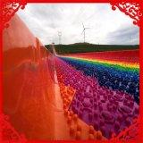 七彩滑道 美丽的风景就在眼前 七彩滑梯 彩虹滑道