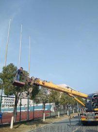 张家港不锈钢旗杆厂 自营旗杆 旗帜 电动门
