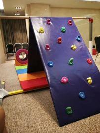 兒童體適能攀爬架少兒體適能訓練兒童攀巖器材