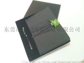 时尚套装定制A5三折布料笔记本 专业品牌OEM/ODM定制 唐风-智造