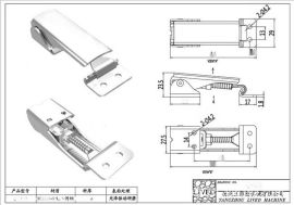 厂家供应QF-008调节搭扣 螺杆调节搭扣 不锈钢调节搭扣食品调节扣