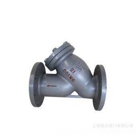鑄鋼Y型法蘭過濾器 GL41H-16C 鑄鋼法蘭過濾器 管道過濾器
