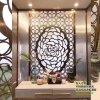 中式金屬不鏽鋼屏風花格 酒店鏤空雕花不鏽鋼屏風隔斷