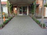 胶粘石地坪批发上海桓石胶粘石地坪16种天然彩石用于透水性景观道路、车型或人行道、公园和广场