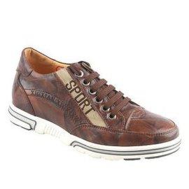 棕色休闲皮鞋(K914)