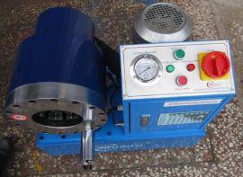 四川胶管扣压机|建筑钢管锁管机|高压油管压管机