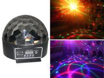 LED六环水晶球YE004C