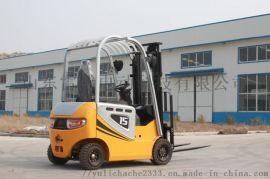 湖南平衡重四轮电动叉车 集装箱叉车堆高设备