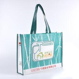 环保覆膜无纺布袋定制logo手提卫浴礼品袋购物